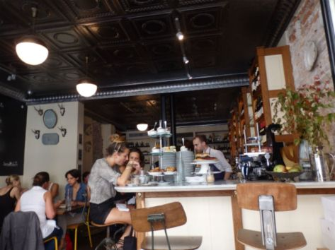 Interior of Buvette Gastrothèque Paris