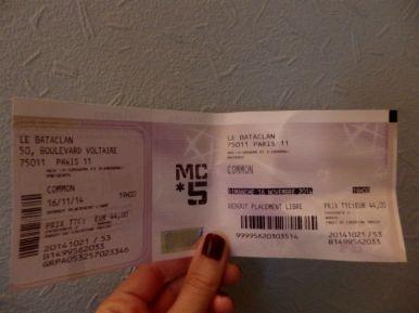 Got my ticket, ready to go!