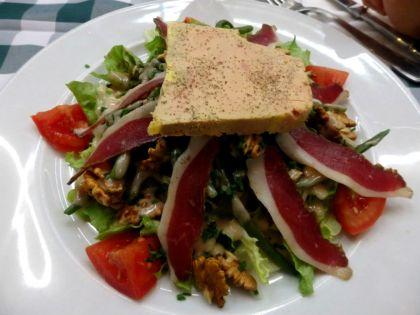 bistro des halles_paris_périgourdine salad