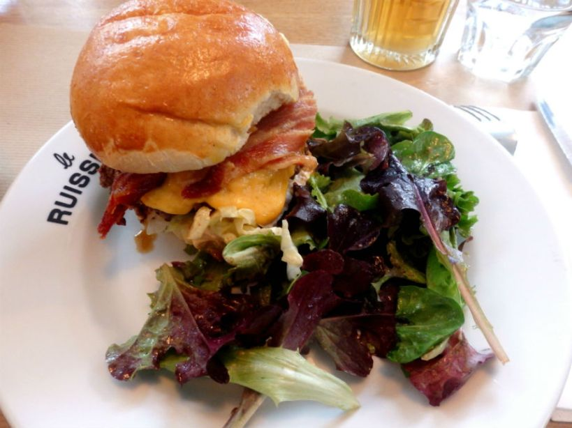 Le Ruisseau_Paris_Cheddar burger