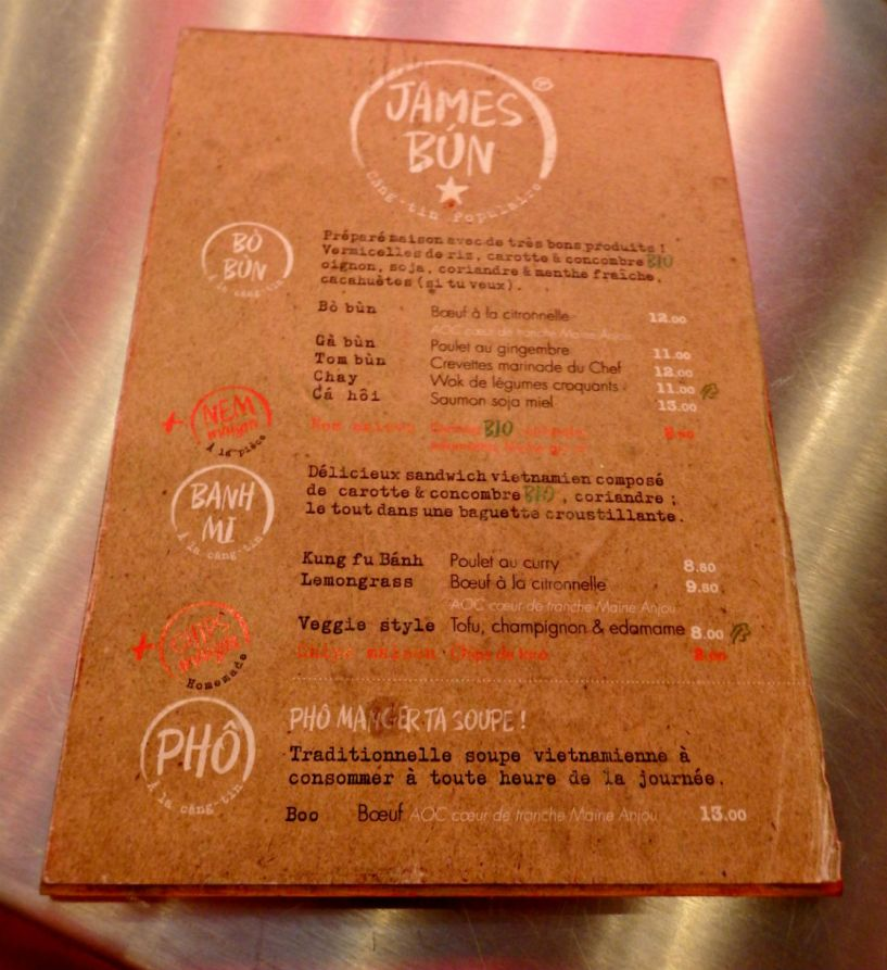Fast food fast review james bun from your parisian for H kitchen paris menu